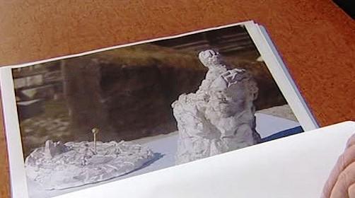 Pomník podle Stanislava Hanzíka