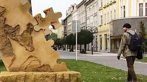 Sochy na náměstí Svobody v Hradci Králové