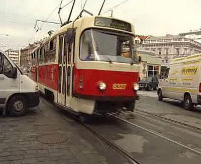 Provoz v Praze