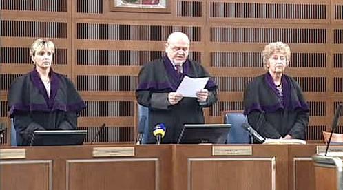 Vynesení rozsudku nad Antonínem Novákem