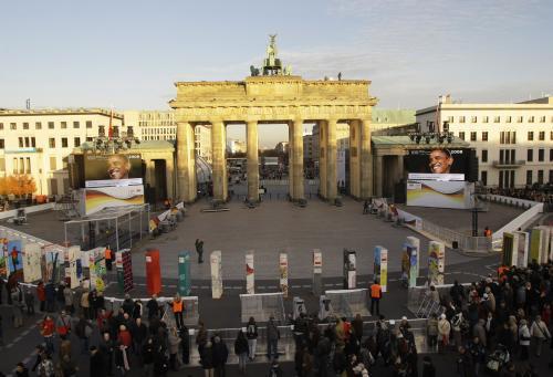 Berlínská zeď je zpátky – symbolicky a v rozebíratelné formě.
