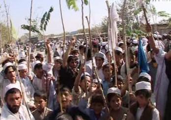Protest v Afghánistánu