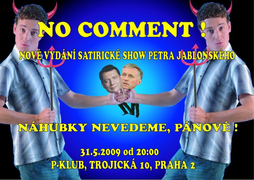 Pozvánka na představení Petra Jablonského