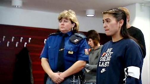 Žaneta Danišová u soudu