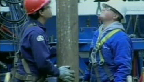 Těžba zemního plynu