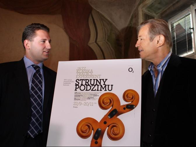Libor Nováček a  Michael York