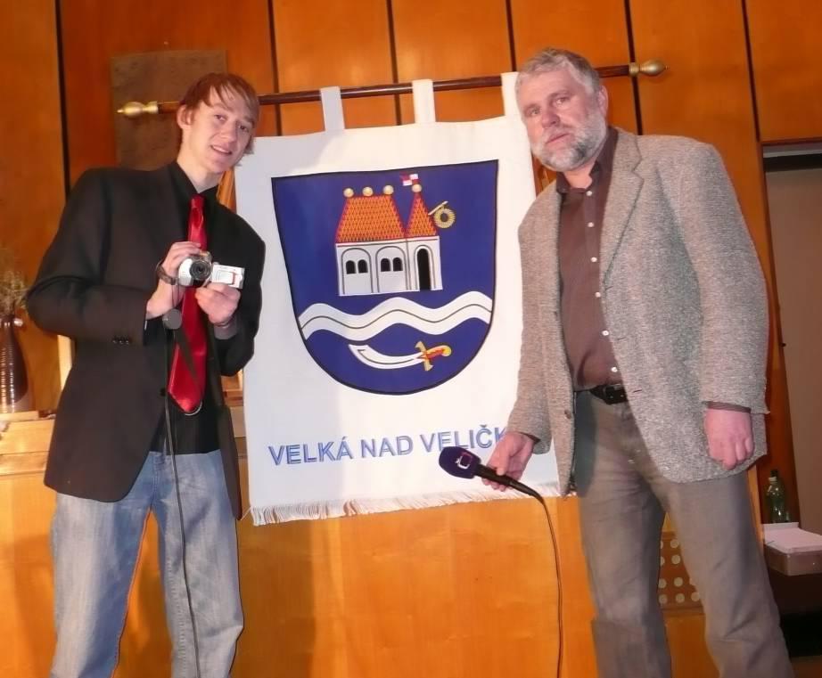 Radek Pšurný a Antonín Vrba