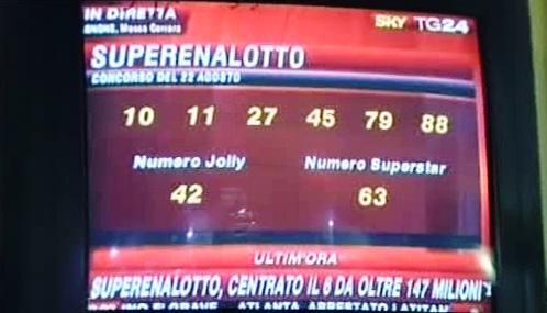 Loterie SuperEnalotto