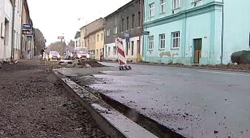 Přestavba ulice