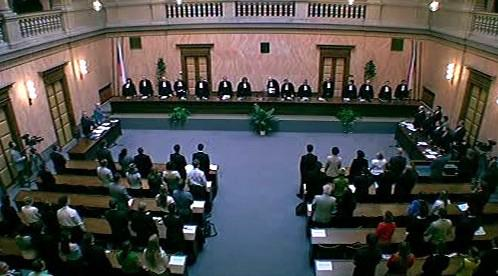 Jednání Ústavního soudu