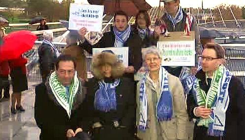 Demonstrace na podporu eutanazie
