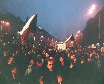 Revoluce v listopadu 1989