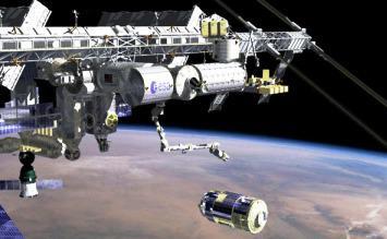 HTV-1 u ISS