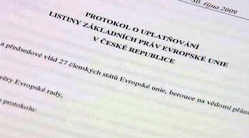 Protokol uplatňování Listiny základních práv Evropské unie v České republice