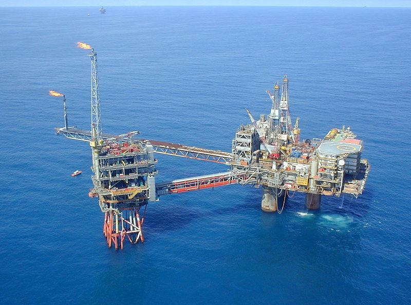 Ropná věž společnosti Exxon Mobil