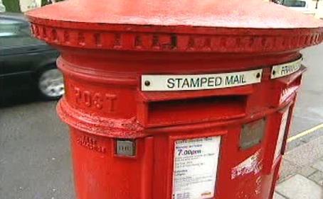 Britská poštovní schránka