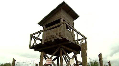 Replika strážní věže