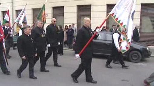 Pochod Maďarských gard