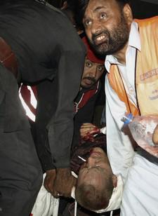 Oběti bombového útoku