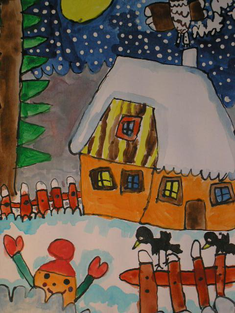 Děti malují pro Konto Bariéry