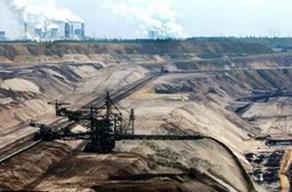 Důsledek těžby surovin