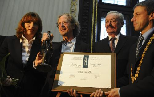 Petr Handke s Cenou F. Kafky 2009