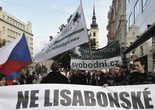Protest proti Lisabonské smlouvě