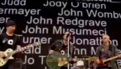 U2 v Pasadeně