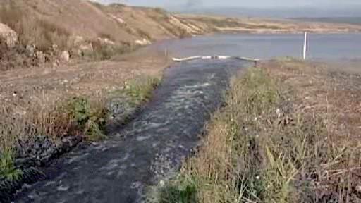 Napouštění jezera