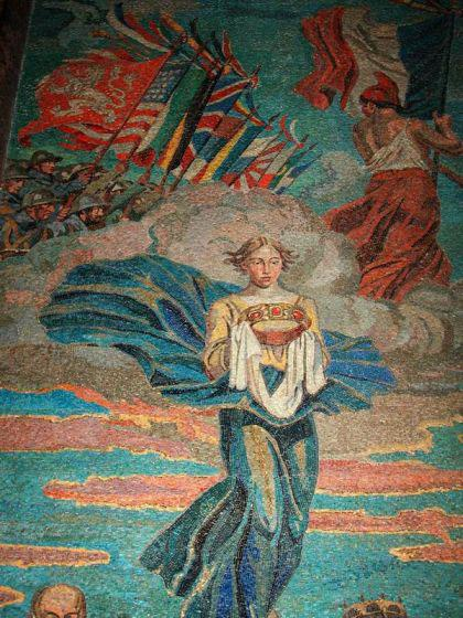 Mozaika od Maxe Švabinského