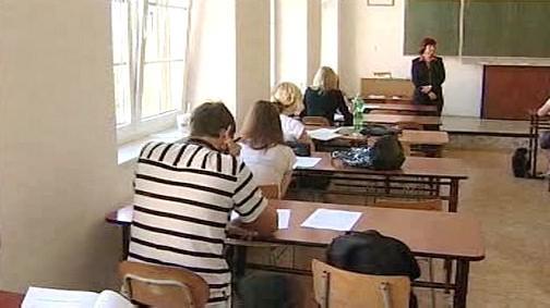 Studenti ve třídě