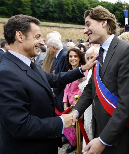 Nicolas Sarkozy a Jean Sarkozy
