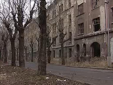 Ruiny domů Jana Davida Horskeho