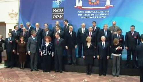 Ministři obrany NATO