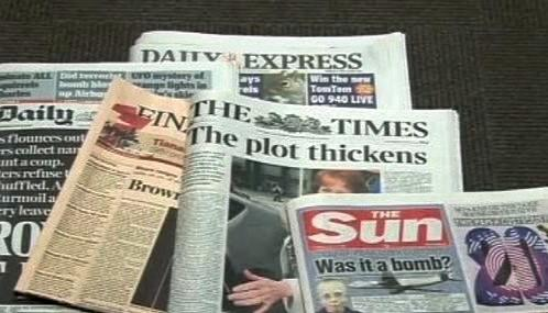 Britský tisk