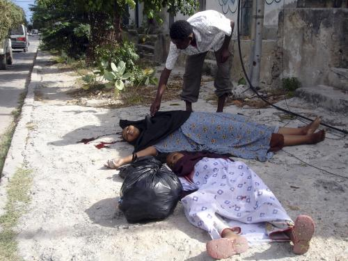 Oběti bojů v Somálsku