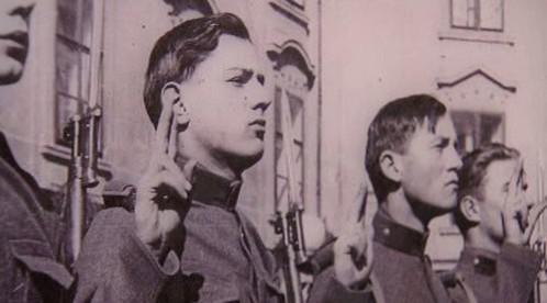 Přísaha rakouských vojáků ve Wehrmachtu