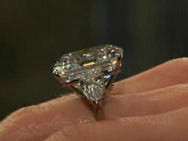 Dvaatřicetikarátový diamant