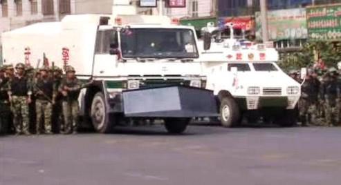 Čínská policie zasahuje proti nepokojům Ujgurů