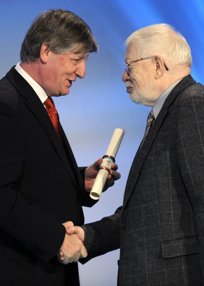Václav Riedlbauch a Miroslav Jindra