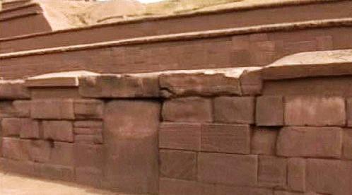 Zdivo pyramidy Akapana
