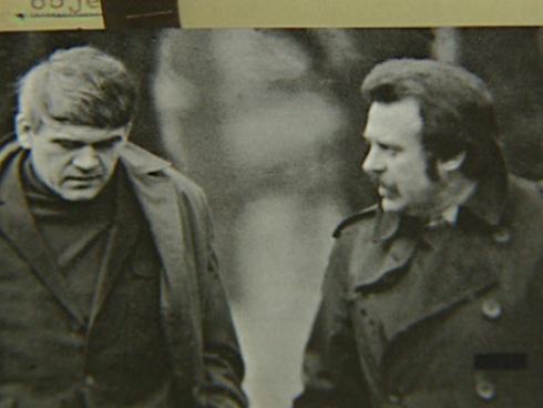 Milan Kundera a Pavel Kohout