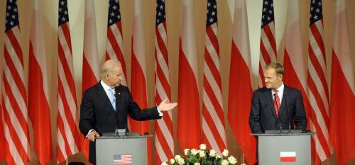 Joe Biden a Donald Tusk