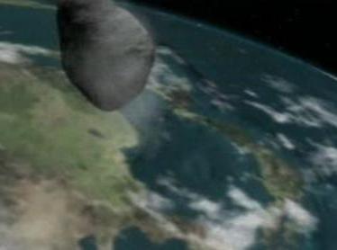 Planetka míjí zemi