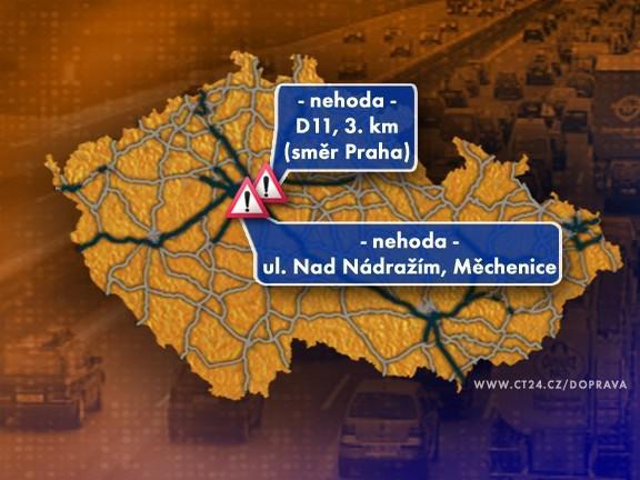 Dopravní situace v úterý 20. 10. 2009