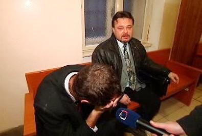 Nikdo z obžalovaných nechtěl mluvit na mikrofon