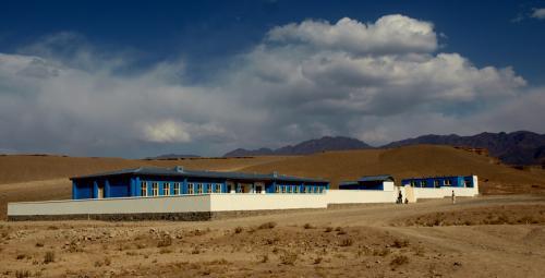 Škola v Afghánistánu postavená