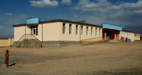 Škola v Afghánistánu