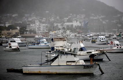 První hurikán v Mexiku
