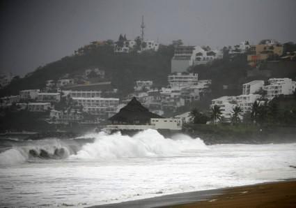 Hurikán v Mexiku